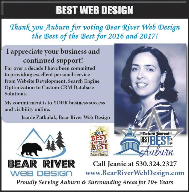 Jeanie Zatkulak of Bear River Web Design voted Best of The Best Web Design 2016