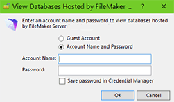 How to Remove a Saved Password in FileMaker via Credential Manager